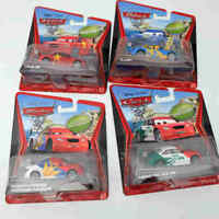 Disney PIXAR Cars 2 Super Chase RUSSIAN RACER/ LONG GE/ FLASH/ MEMO ROJAS JR Toy