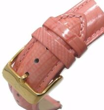 20mm Original Invicta Genuine Leather Salmon Pink Lizard Quick Watch Band Strap
