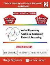 Critical Thinking and Logical Reasoning Workbook-2 by Ranga Raghuram (2014,...