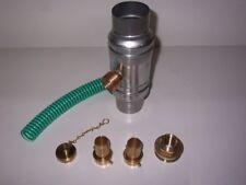 Komplett-Set Regenwassersammler Titanzink Fallrohr-Durchmesser 60mm Regensammler