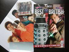 SFX BEST OF BRITISH SPECIAL EDITION 2011 DR WHO MISFITS GERRY ANDERSON TORCHWOOD