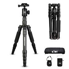 KIWI Portable Pro Tripod Monopod &Ball Head Compact Travel for DSLR Video Camera