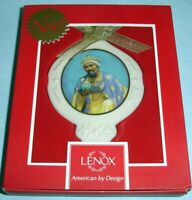 Thomas Blackshear Ebony Visions Ornament Wise Man with Frankincense by Lenox New