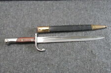 Brazilian Model 1908 Mauser Bayo W/ Nice Scabbard-Excellent-Wkc-Ma tching-#1949