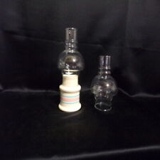 "2-3/4"" FITTER CLEAR McCOY CANDLE HOLDER LAMP SHADE"