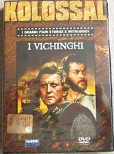 Dvd I VICHINGHI Kirk Douglas Tony Curtis Ernest Borgnine Kolossal Ed. Fabbri