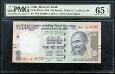 INDIA 100 RUPEES 2016 P 105ae GEM UNC PMG 65 EPQ