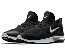 d5fe709a0216e1 Nike Air Max Fury Men s Running Shoes AA5739 001 Black White Msrp  120 NIB