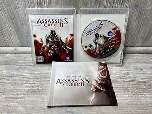 Assassins Creed II 2 & THE ART of ASSASSIN'S Creed II Hardcover Mini Art Book