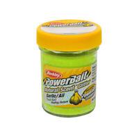 Berkley Powerbait Garlic Scented Glitter Trout Bait 1.75 Oz Jar Yellow 1203188