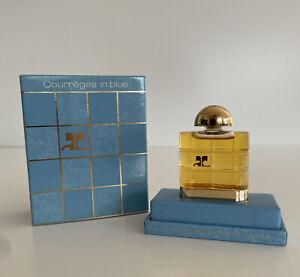 Parfum Courreges In Blue Paris Vintage 1983 7,5ml