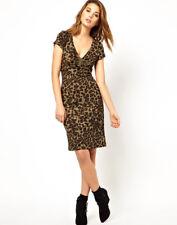 Traffic People Cheetah Print Dress, Sz M NWT