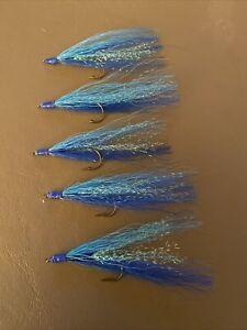 Bucktail River Streamer Flies- Hand Tied - Walleye, White Bass, Salmon (464)