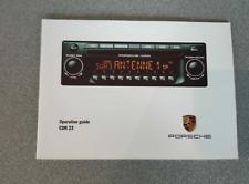 Porsche 911 996 Boxster 986 cdr23 booklet