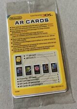 Nintendo 3DS AR Cards Pack Sealed