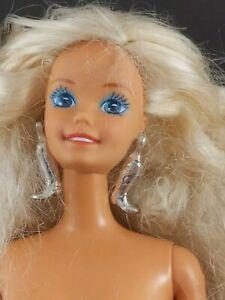 Mattel Barbie Western Stampin' Doll Nude w/ Earrings, Ring 1990s