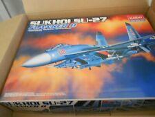 1:48 Academy #2131 Sukhoi Su-27 Flanker B Plus X