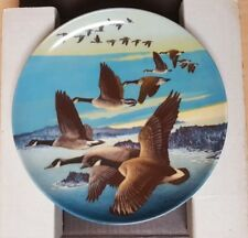 WINGS UPON THE WIND DONALD PENTZ CANADIAN WILDLIFE FEDERATION LOT OF 3 PLATES
