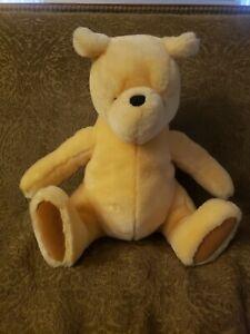 "GUND Disney 14"" Classic Winnie the Pooh Bear plush stuffed animal toy Yellow"