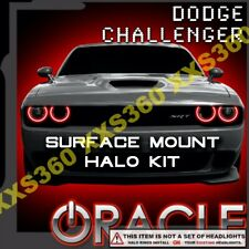 ORACLE Headlight HALO KIT Dodge Challenger 15-19 RED Surface Mount WATERPROOF