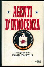 IGNATIUS DAVID AGENTI D'INNOCENZA MONDADORI 1988 OMNIBUS PRIMA EDIZIONE