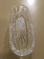 Waterford Crystal Oval Celery / Cracker/Relish Serving Dish