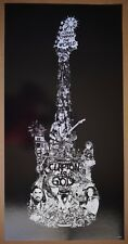 Clapton is God by Kako Screenprint Black Varnish Sold Out Mondo