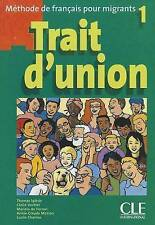 Trait D'Union Level 1 Textbook (French Edition)-ExLibrary