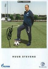Autogramm - Huub Stevens (FC Schalke 04) - 2018/2019 - nicht im Kaufsatz