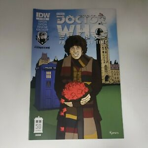 Dr Doctor Who Prisoners of Time  #4 IDW CVR RE Variant Ottawa Comic Con m4b125