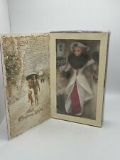 Rare Holiday Memories Hallmark Special Edition Barbie 1910 Collectible Doll Nib