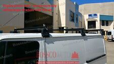 Universal Heavy Duty Black ROOF RACKS for Low Roof Vans