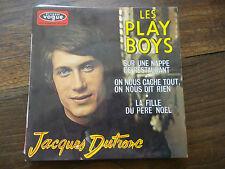 Jacques Dutronc : les play boys - la fille du père noël - vogue  EPL 8461