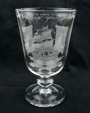 Stuart Crystal Ltd Edition Commemorative Mayflower Chalice * BOXED *