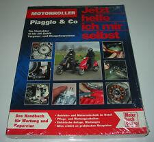 Reparaturanleitung Motorroller Piaggio 50 - 500 ccm² Vergaser + Einspritzer NEU!