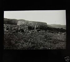 Glass Magic Lantern Slide An Ancient Stone Roundhouse C1910