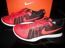 Brand New Mens Red & Black Nike Flex Train Aver Tennis Shoes, 9