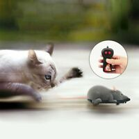 Wireless Remote Control RC Electronic Rat Mouse Mice For Cat Dog Pet Funny Toy A