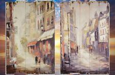 Holzschilder 2 Straßen in Paris 2 bekannte Gemälde Ladenausstattung & Werbung