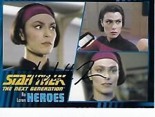 "MICHELLE FORBES SIGNED 2013 ""STAR TREK"" TNG HEROES & VILLAINS #26 - RO LAREN"