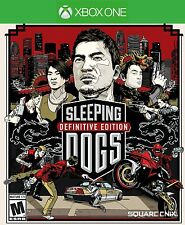 XBOX ONE SLEEPING DOGS Definitive Edition BRAND NEW - FREE SHIPPING!