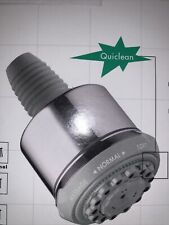 Hansgrohe 28496821 Clubmaster Series 3-Jet Showerhead, Brushed Nickel Finish