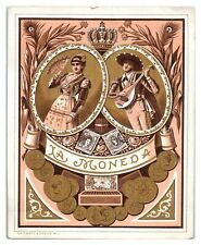 La Moneda Cigar Box Label *CBL1