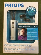 "Phillips SHN7500 ""TRAVEL"" In-ear noise cancelling headphones - NEW!"