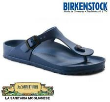 BIRKENSTOCK Infradito ciabatte GIZEH EVA 0128211 gomma leggerissima BLU NAVY