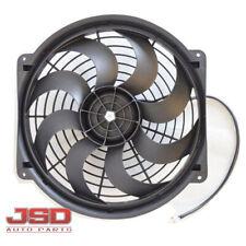 "New 16"" Inch Universal Fan Radiator Cooling Push Pull & Mounting Kit 3710"