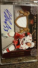 2011 Panini All the King's Men Jeff Skinner Auto Patch /100