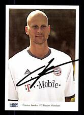 Carsten Jancker Autogrammkarte Bayern München Hanse Haus 2002 Original Signiert