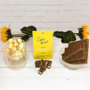 Choc Amor's Toffee Popcorn Chocolate - Halal Islamic Gift (Muslims, Luxury, Eid)