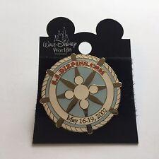 Fantasy Pin - S.S. DIZPINS.COM May 2002 Cruise Event White Disney Pin 11798